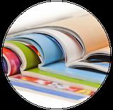 Publicações informativos revistas para empresas