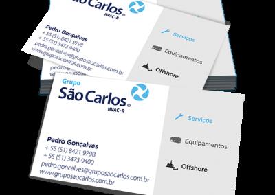 Cartão de visita Grupo São Carlos