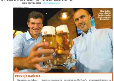 Dado Bier na Folha de São Paulo