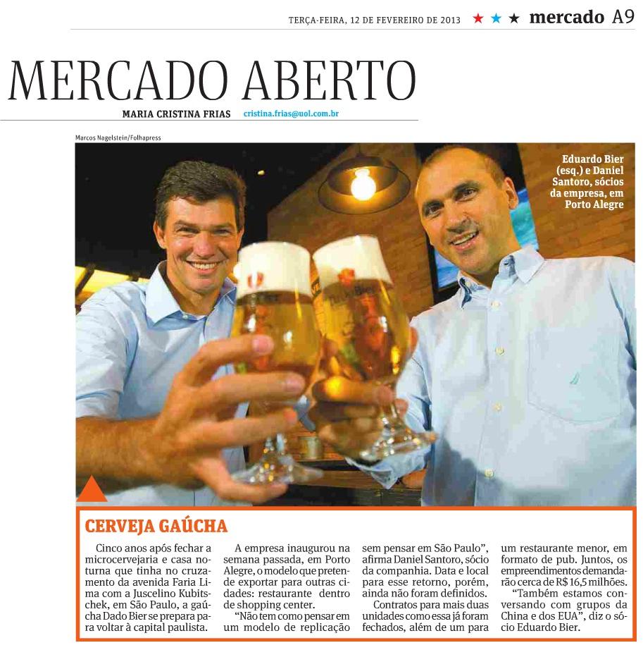 Assessoria de imprensa notícia Folha de São Paulo