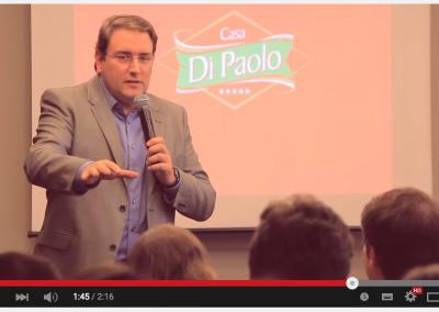 Vídeo Lançamento da Escola DiPaolo