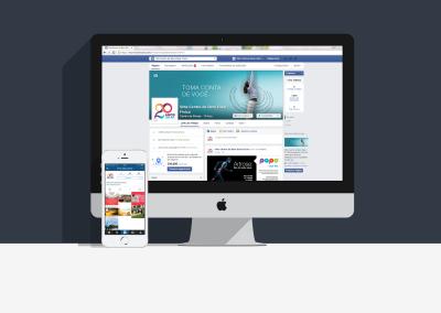 Facebook e Instagram Vitta Centro de Bem-Estar Físico