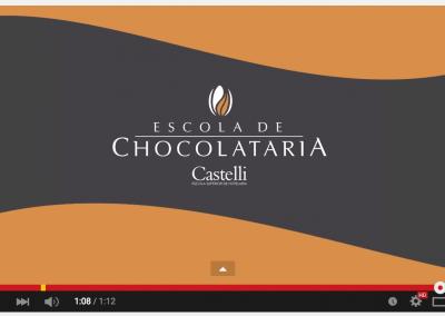 Vídeo Castelli Escola de Chocolataria