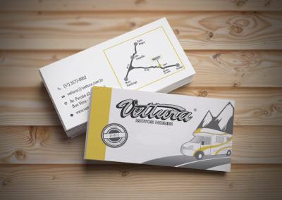 Cartão de visita Vettura Motor Homes