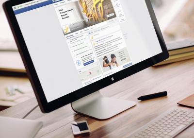 Facebook e Instagram Academia Santé