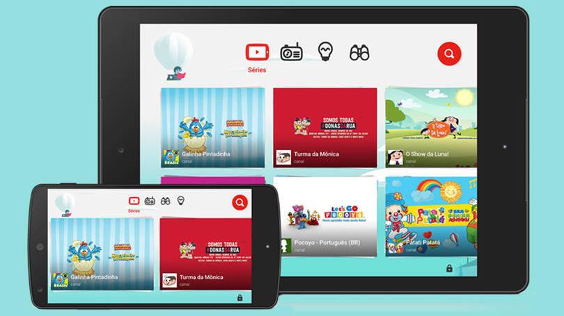 Google lança no Brasil YouTube Kids, app para crianças